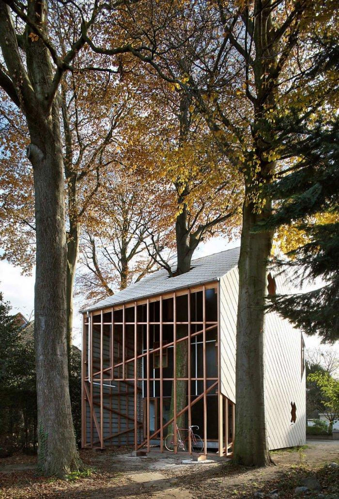 Small Eco House Architectural Design in Gent, Belgium
