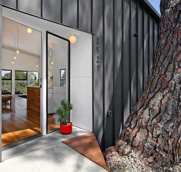 The modern small house architecture