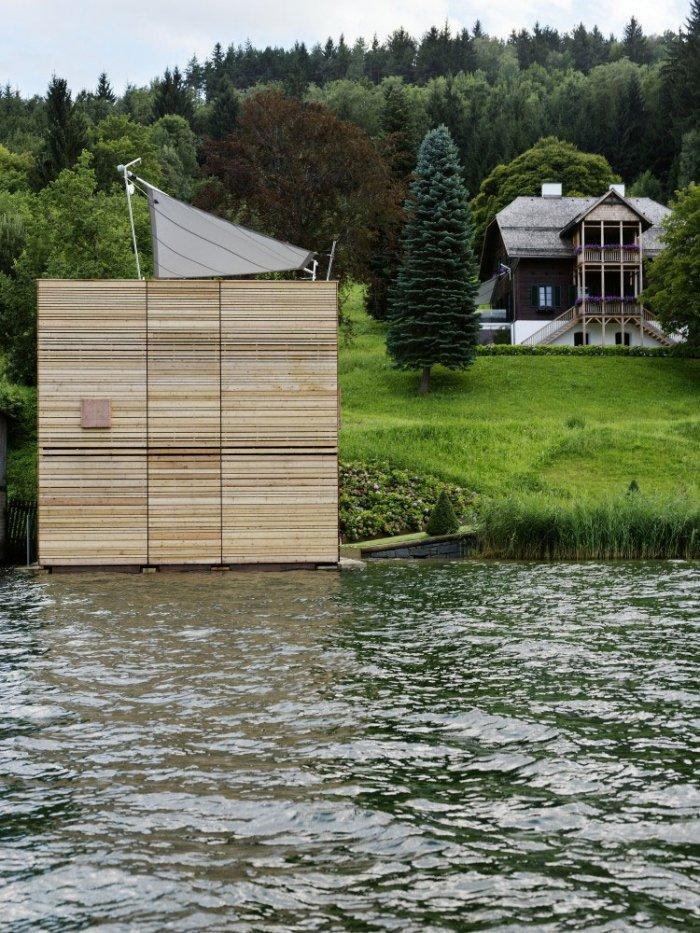 The boathouse 4 – modern luxury boathouse design by the lake.