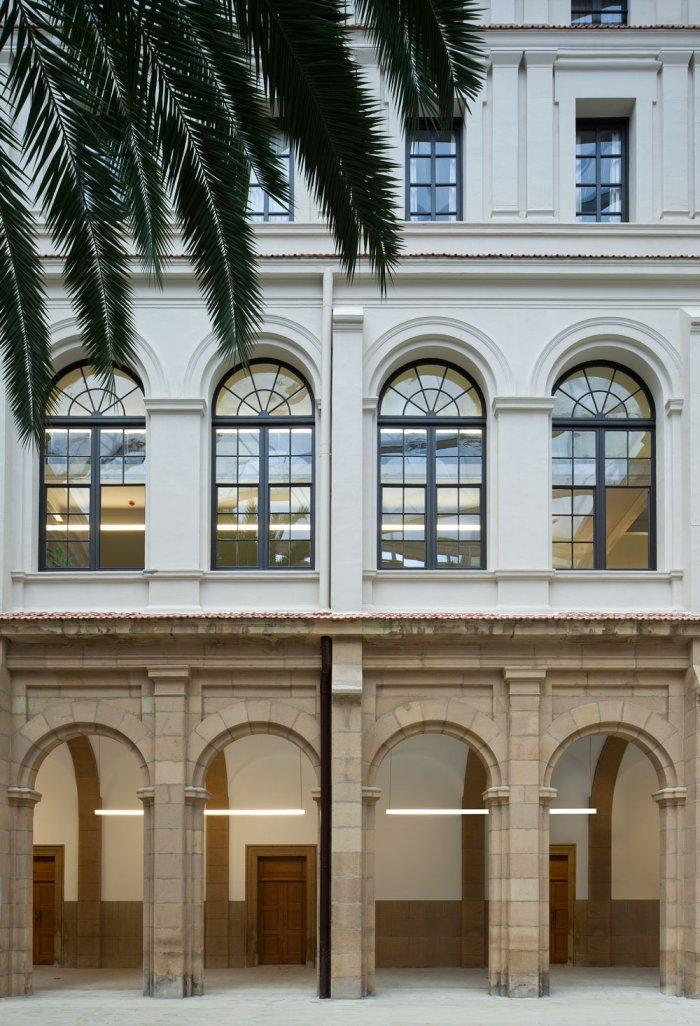 Facade - University of Duesto with Renewed Interior Design