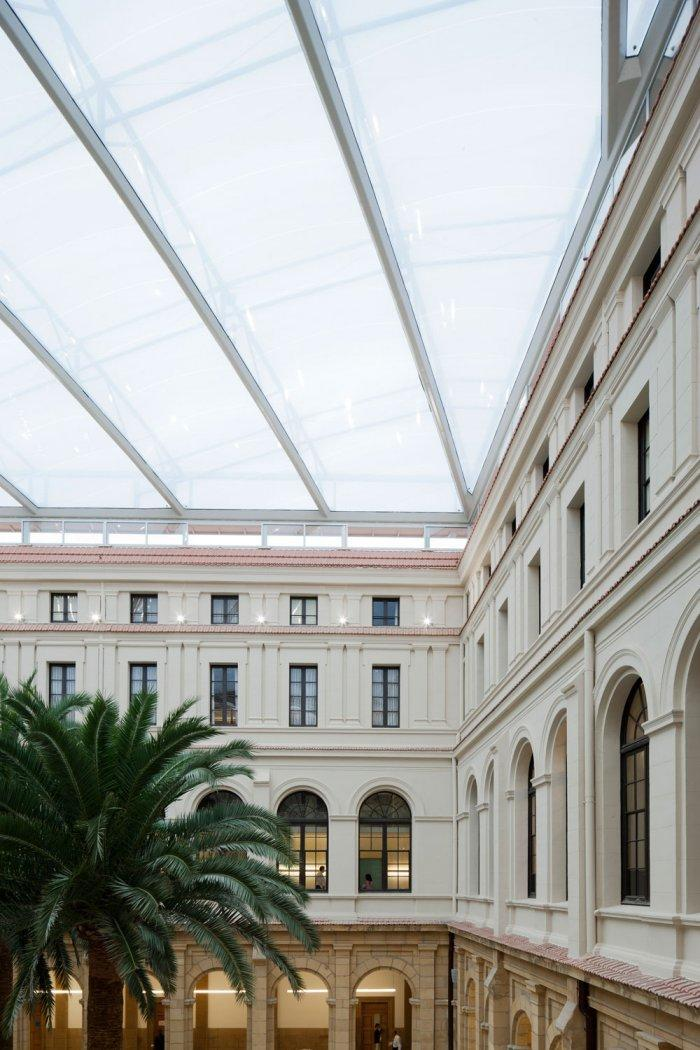 Inner Yard - University of Duesto with Renewed Interior Design