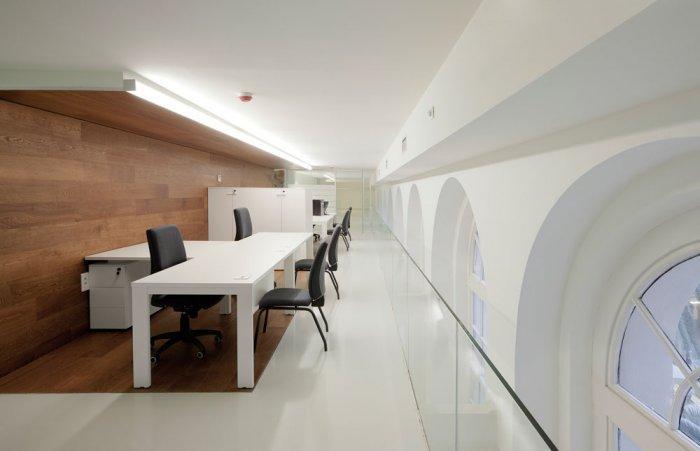 Reception Desk - University of Duesto with Renewed Interior Design