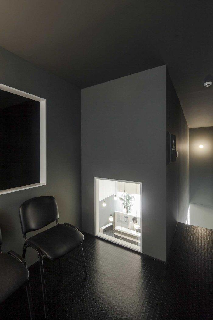 Waiting Room 1 - Stylish and Modern Dental Studio Design in Portugal