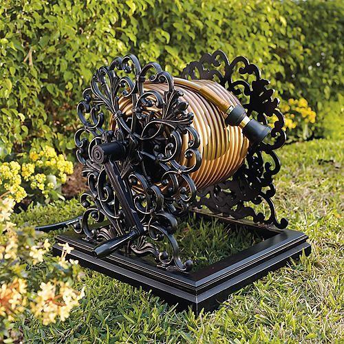 Aluminium Hose Reel - How to Decorate a Garden without Patio Furniture?