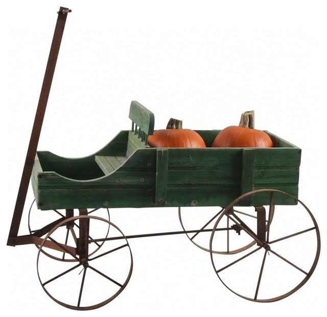 American Decorative Garden Wagon - How to Decorate a Garden without Patio Furniture?