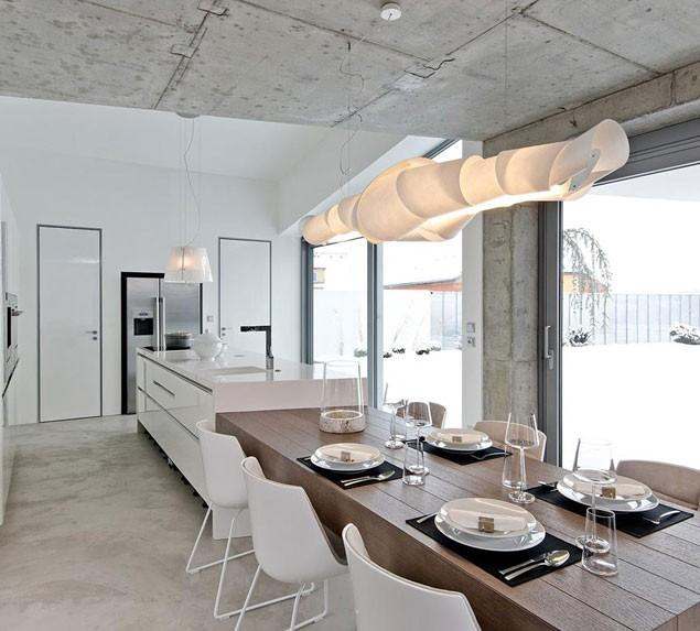 Concrete as a Global Apartment Interior Design Trend