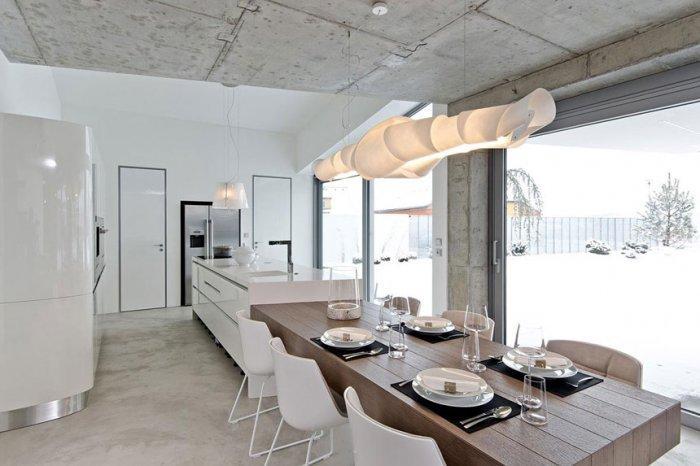 Concrete as a Global Apartment Interior Design Trend