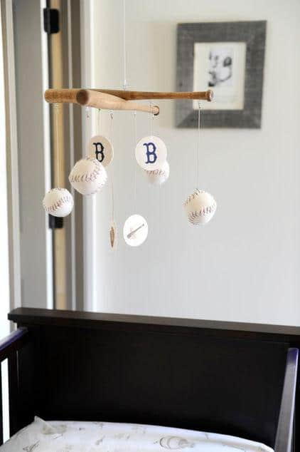 Baby Crib Unique Sports Home Decor Ideas For Baseball Fans