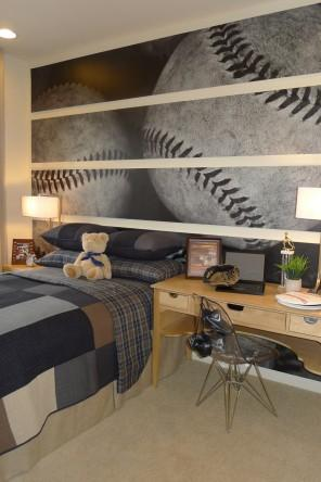 Baseball Wallpaper - Unique Sports Home Decor Ideas for Baseball Fans