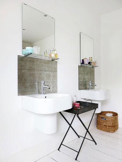 Bathroom Interior Design - Neat Victorian London Home with Contemporary Interior