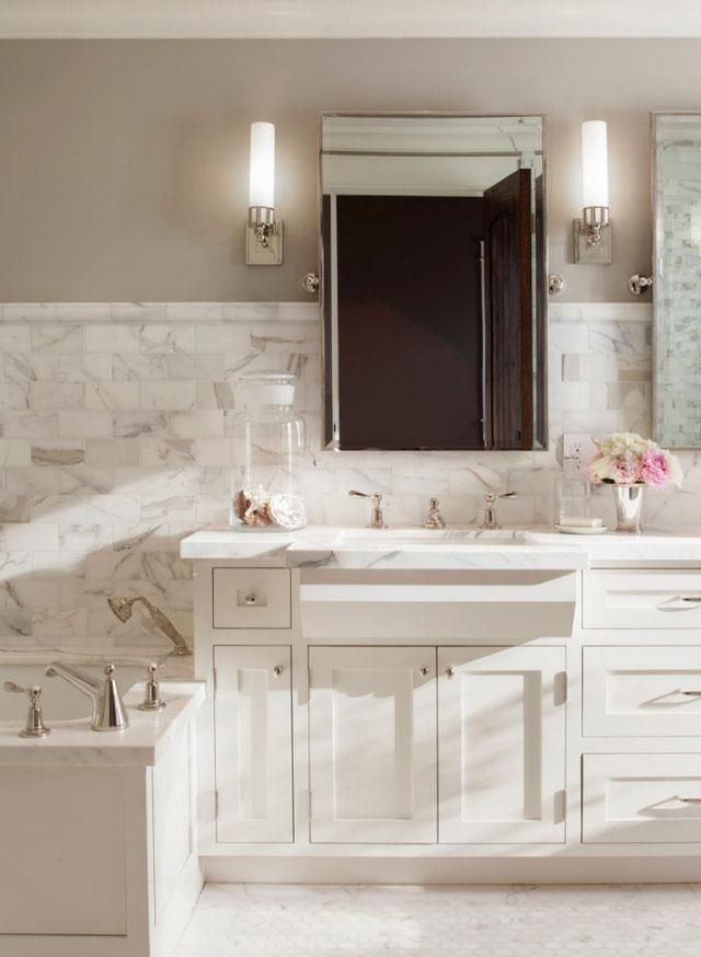 Bathroom - Best USA Decor Examples of Home Wall Painting Ideas