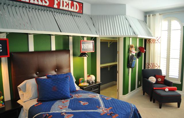 Bedroom Unique Sports Home Decor Ideas For Baseball Fans
