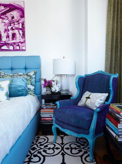 Blue Decorative Armchair - Using the Right Chair Design when Decorating Rooms