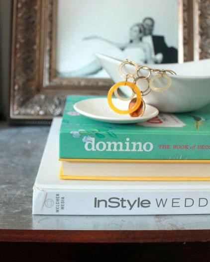 Books - Low Budget Spring Decorating Ideas for a Sunny Life