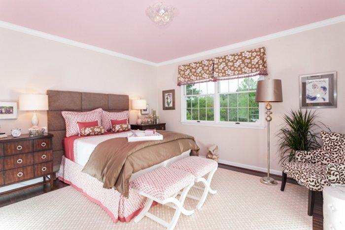 Brown And Pink Bedroom   Latest Interior Design Trends