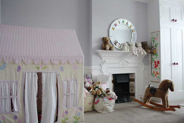 Chidren Room - Victorian Style House with Contemporary Interior