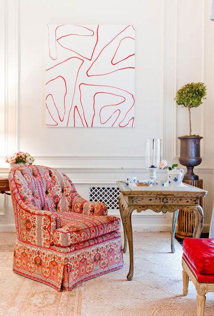Colorful Amrchair - Using the Right Chair Design when Decorating Rooms