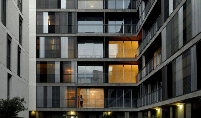 Contemporary Apartments Building Architectural Approach