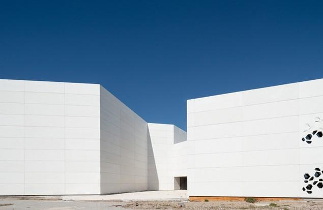 Contemporary Architecture - The Art Center in Cordoba