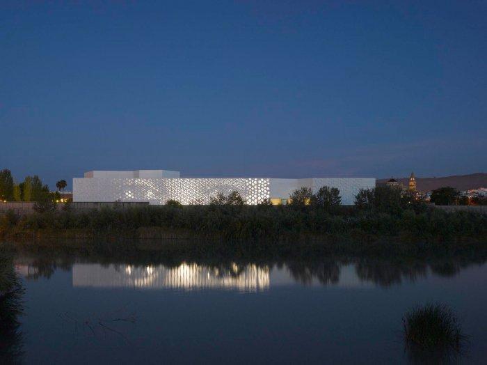 By Night - Contemporary Architecture - The Art Center in Cordoba
