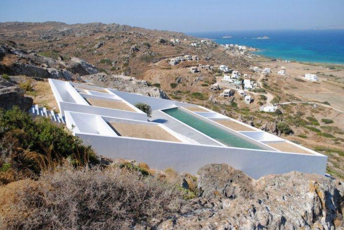 Contemporary Architecture - Unbelievable Mediterranean Summer Villa in Naxos, Greece