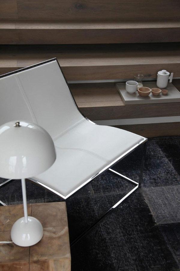 Contemporary Armchair - Stylish Minimalist Penthouse Designed to Impress