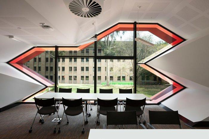 Contemporary Discussion Room - Modern Educational Building Design - The La Trobe LIMS