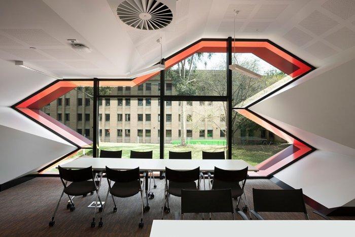 Contemporary Discussion Room - Modern Educational Building Design - The La Trobe LIMS