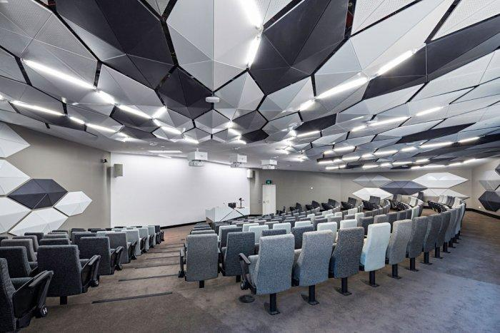 Contemporary Lecture Hall - Modern Educational Building Design - The La Trobe LIMS