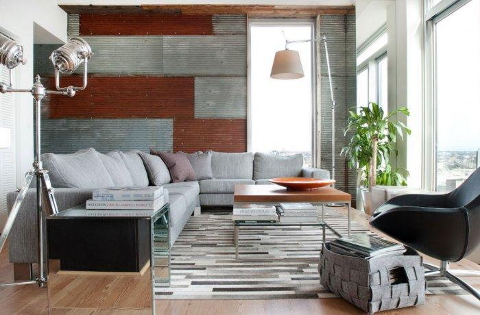 Contemporary Living Room Interior Design - Eclectic Home Decorating Ideas - The City Lifestyle