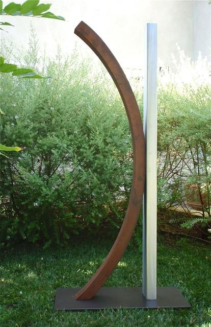 7 Ideas How To Use Contemporary Patio Colorful Sculpture for Decoration