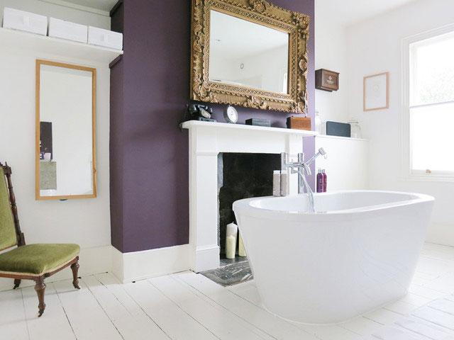 Contemporary Victorian Bathroom - Neat London Home with ContemporaryInterior