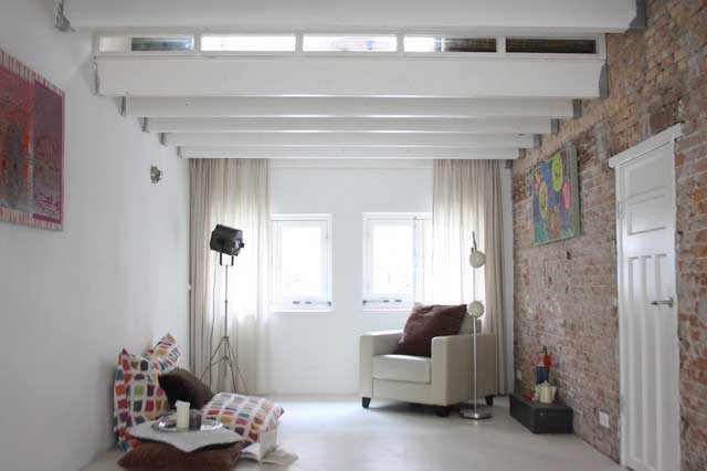 Cozy Loft Living Room - Apartment Interior Design - Contemporary Lifestyle