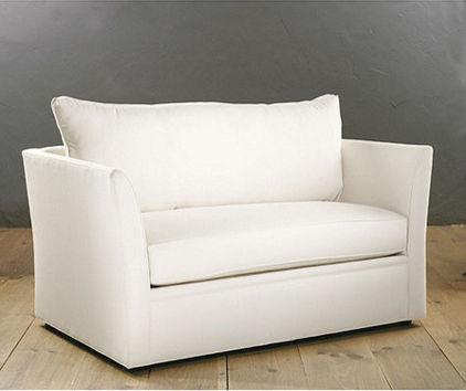 Cozy White Leather Sofa - What Furniture to Use to Transform Your Home Office?