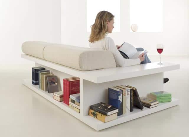 Creative Contemporary Leather Sofa - 7 Unique Furniture Examples