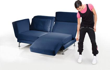 Creative, Flexible and Functional Blue Sofa - 7 Unique and Creative Contemporary Furniture Examples