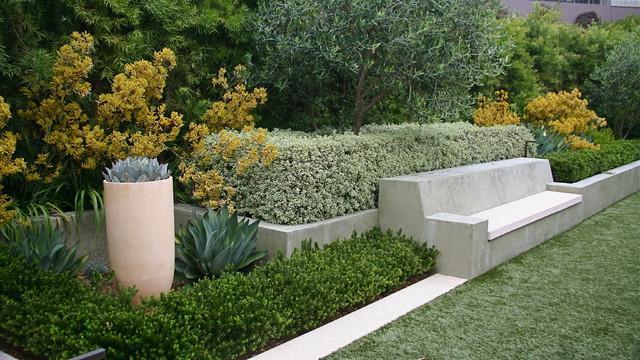 Creative Garden Decoration - Garden Design Ideas - How to Use Shrubs for Hedge