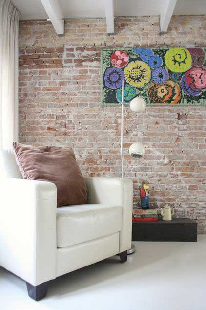 Creative Interior Wall Decoration - Loft Apartment Design - Contemporary Lifestyle