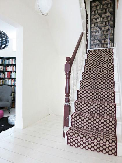 Creative Staircase - Neat Victorian London Home with Contemporary Interior