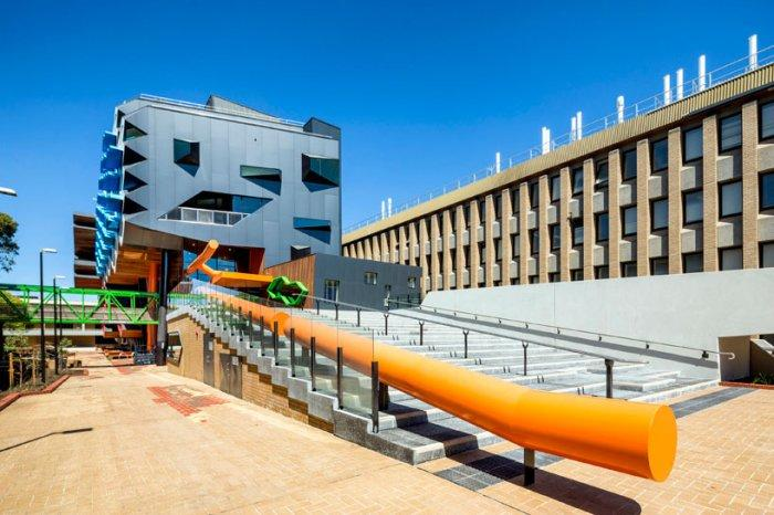 Creative Stairs - Modern Educational Building Design - The La Trobe LIMS