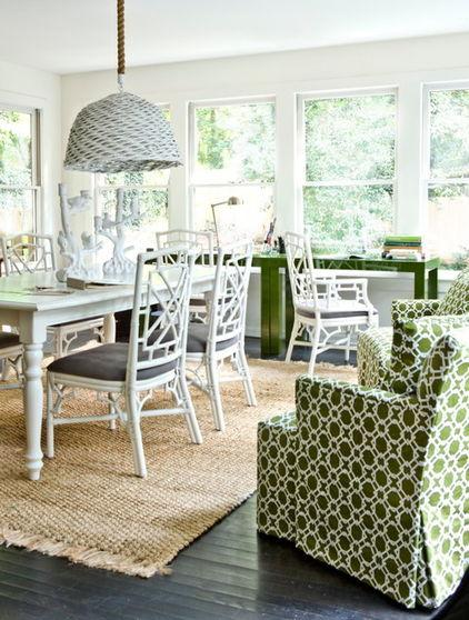 Dining Room - How a Colorful Chair can Decorate your Living Room