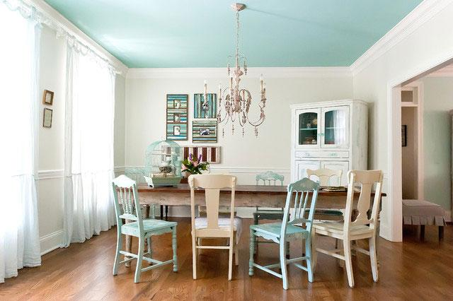 Dining Room Interior Design - Low Budget Spring Decorating Ideas for a Sunny Life