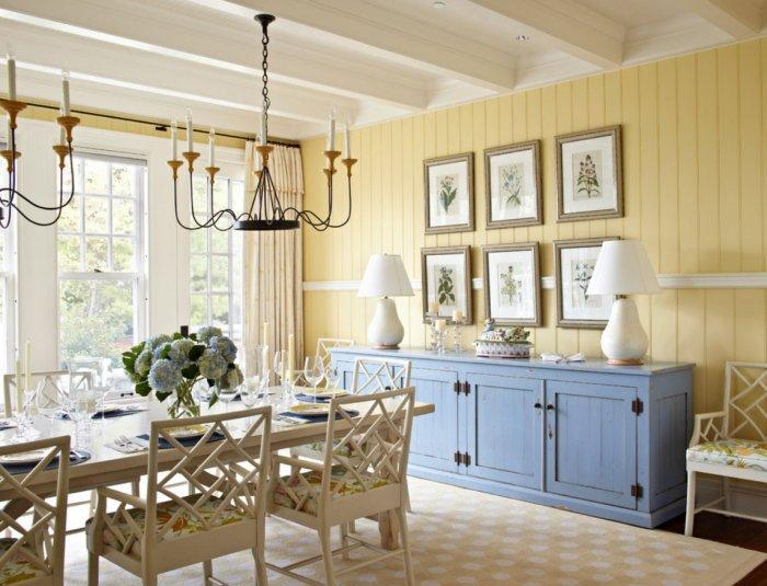 Dining Room - Best USA Decor Examples of Home Wall Painting Ideas