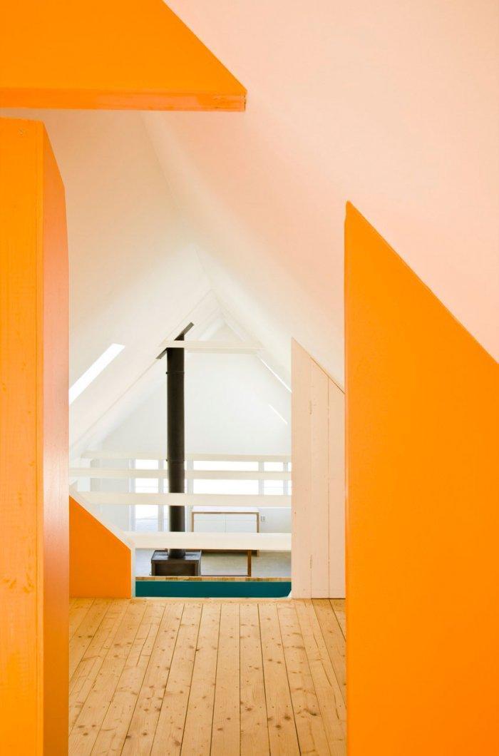 Interior - Small Scandinavian Eco House Nested in Österlen