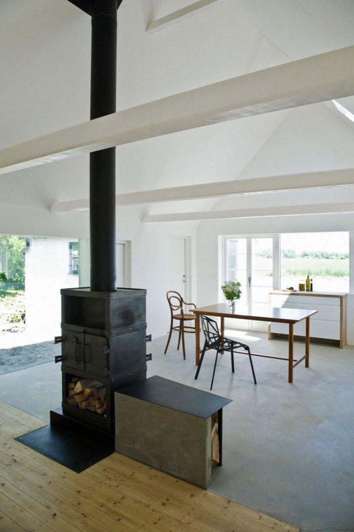 Living Room - Small Scandinavian Eco House Nested in Österlen