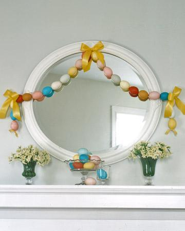 Egg Garland - Easter Decorating Ideas in Pictures & How-To Examples