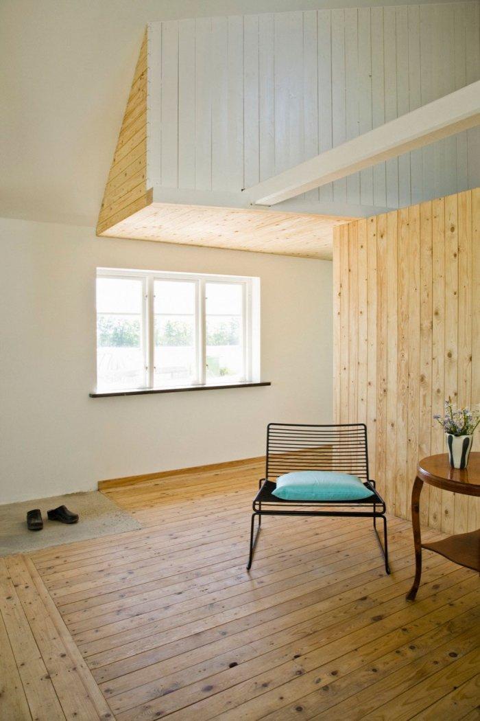 Entrance Hall - Small Scandinavian Eco House Nested in Österlen