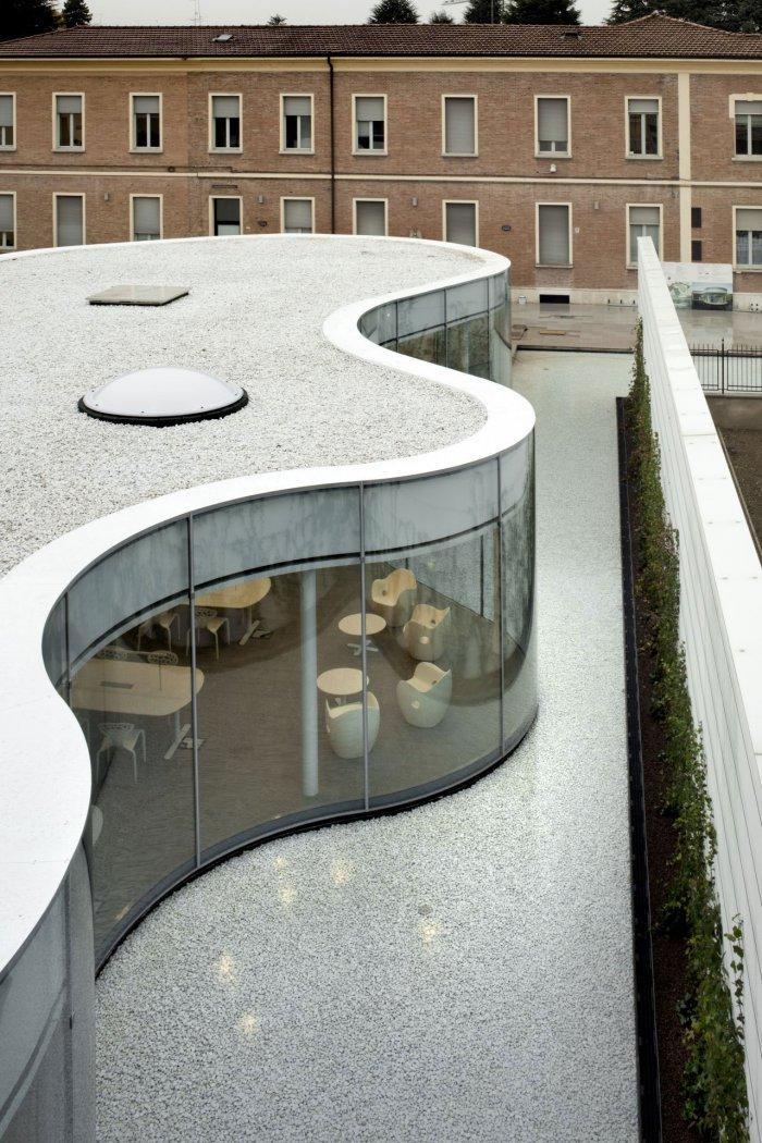 Facade - Maranello Library Architecture and Design in Italy