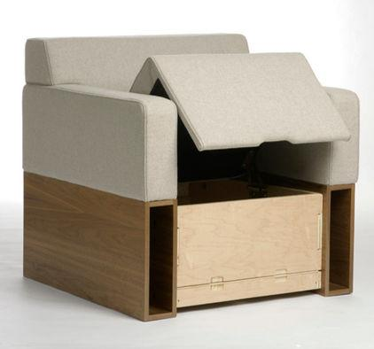 Flexible Semi-Wooden Armchair - 7 Unique and Creative Contemporary Furniture Examples