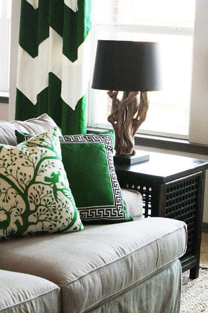 Cushions - Green as a Decorative Accent in Home Interior Design